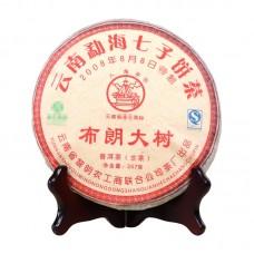 2008, Большие деревья Буланшаня, 0,357 кг/блин, шэн, ч/ф Лимин