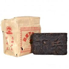 2006, Священный огонь. Старый чай, 0,25 кг/кирпич, шэн, ч/ф Сягуань