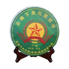 2011, Красная Звезда, 0,357 кг/блин, шэн, ч/ф Сягуань