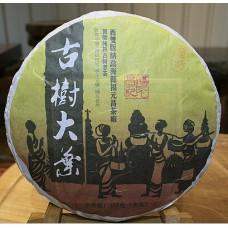 2012, Маньчжуань, хуанпянь, 357 г/блин, шэн, ч/ф Фуюань Чан