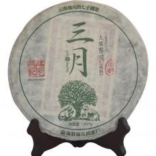 """2015, Маньчжуань, серия """"Март"""", 357 г/блин, шэн, ч/ф Фуюань Чан"""