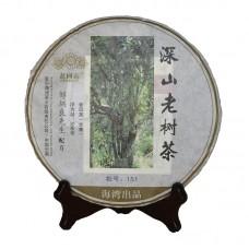 2015, Высокогорье. Старые деревья, 500 г/шт, шэн, ч/ф Хайвань