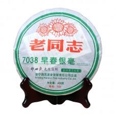 2007, 7038, 0,4 кг/блин, шэн, ч/ф Хайвань