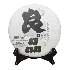 2017, Отборный чай, 400 г/блин, шэн, ч/ф Хайвань