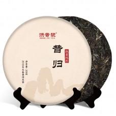 2018, Вершины Сигуя, 200 г/блин, шэн, ч/ф Хунпу Хао
