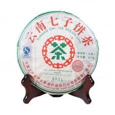 2007, 6031, 0,357 кг/блин, шэн, ч/ф Чжунча
