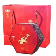 2015, Золотая тыква, 888 г/коробка, шэн, ч/ф Чжунча