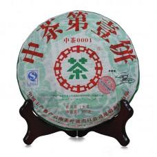 2007, Первый блин, 0,357 кг/блин, шэн, ч/ф Чжунча