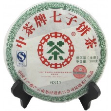 2007, 6311, 0,38 кг/блин, шэн, ч/ф Чжунча
