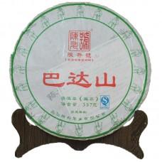 2015, Бадашань, 357 г/блин, шэн, ч/ф Чэньшэн Хао