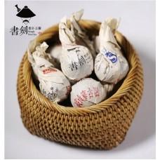2015, Высокогорная деревня, 0,008 кг/шт, шэн, ч/ф Шуцзянь Хао