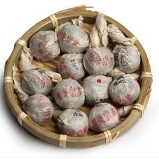 2014, дер. Бандун, Древние деревья, 8 г/шт, шэн, ч/ф Шуцзянь Хао