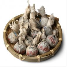 2014, дер. Бома, древние деревья, 8 г/шт, шэн, ч/ф Шуцзянь Хао