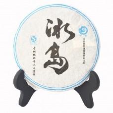 2012, Биндао. Древние деревья, 200 г/блин, шэн, ч/ф Юньчжан