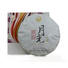 2016, Юэгуанбай, 360 г/блин, белый чай, ч/ф Сягуань