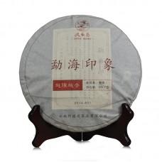 2014, Впечатление от Мэнхая, 357 г/блин, шу, ч/ф Дэфэн Чан
