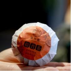 2016, Пуэр в мандарине, 35 г/шт, шу, ч/ф Цзюньчжун Хао