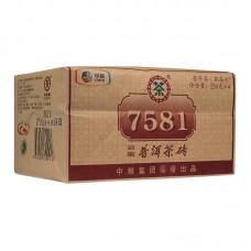 2016, 7581, 1 кг/упаковка, шу, ч/ф Чжунча