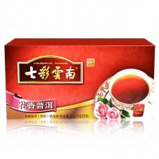 2016, Цветочный аромат, 50 г/пакет, шу, ч/ф Юньнань Колорфул