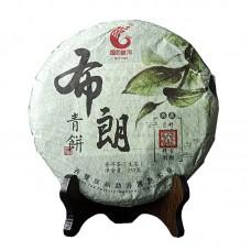 2017, Буланшаньский лист, 357 г/блин, шэн, ч/ф Гоянь
