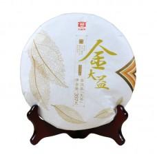 2017, Золотой Даи, 357 г/блин, шэн, ч/ф Даи