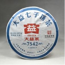 2016, 7542, 357 г/блин, шэн, ч/ф Даи