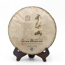 2015, Буланшань, 357 г/блин, шэн, ч/ф Доуцзи