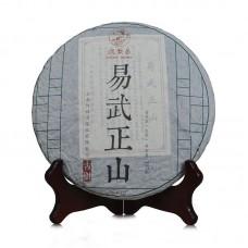 2013, Вершины Иушаня, 357 г/блин, шэн, ч/ф Дэфэн Чан