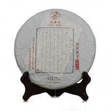 2016, Чай народности Байпу, 357 г/блин, шэн, ч/ф Дэфэн Чан