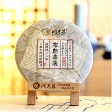 2016, Сокровища Буланшаня, 360 г/блин, шэн, ч/ф Жуньюань Чан