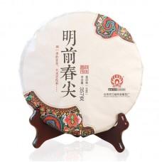 2017, Чай Первого урожая, 357 г/блин, шэн, ч/ф Мэндай