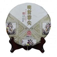2016, Чай Первого урожая, 357 г/блин, шэн, ч/ф Мэндай