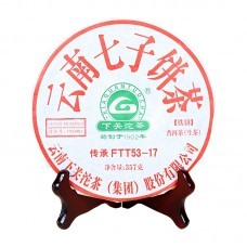 2017, FTT53-17, 357 г/блин, шэн, ч/ф Сягуань