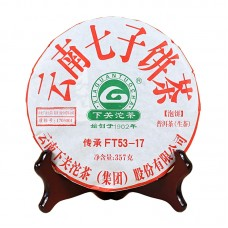 2017, FT53-17, 357 г/блин, шэн, ч/ф Сягуань