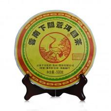 2016, Цанъэр, 500 г/блин, шэн, ч/ф Сягуань