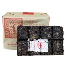 2016, Священный огонь. Чай шамана, 200 г/кирпич, шэн, ч/ф Сягуань