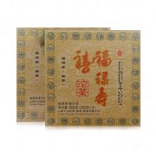 2015, Наньчжао. Три китайских Божества, 800 г/комплект, шэн, ч/ф Сягуань
