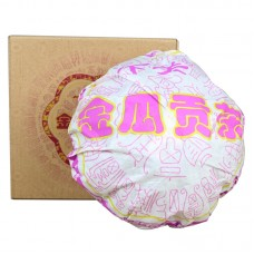 2014, Фэйтай. Золотая Тыква, 1 кг/коробка, шэн, ч/ф Сягуань