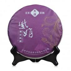2016, Цзыцзюань, 357 г/блин, шэн, ч/ф Тайпу