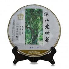 2016, Высокогорье. Старые деревья, 500 г/блин, шэн, ч/ф Хайвань