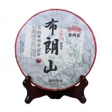 2017, Миншань. Дер. Синь Наньдун, 500 г/шт, шэн, ч/ф Хайвань