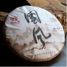 2017, Традиции Востока (Иушань), 357 г/блин, шэн, ч/ф Цайнун