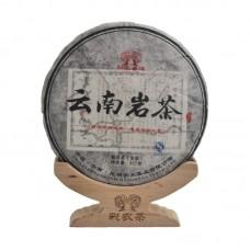 2014, Юньнаньский утёсный, 357 г/блин, шэн, ч/ф Цайнун