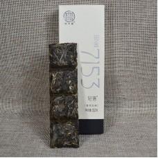2018, 7153, 32 г/коробка, шэн, ч/ф Цзюньчжун Хао