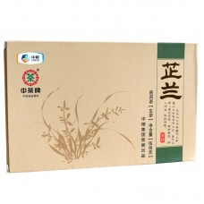 2013, Аромат Орхидеи, 500 г/кирпич, шэн, ч/ф Чжунча