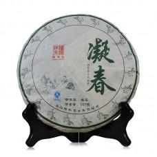 2016, Застывшая Весна, 357 г/блин, шэн, ч/ф Чэньшэн Хао