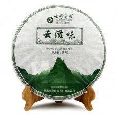 2014, Вкус Юньнани, 357 г/блин, шэн, ч/ф Юньнань Колорфул