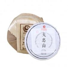 2017, дер. Дачжуншань. Весенний чай, 100 г/блин, шэн, ч/ф Юньчжан