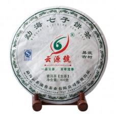 2012, Древние деревья Иушаня, 400 г/блин, шэн, ч/ф Юньюань Хао