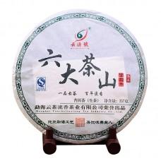 2012, Шесть Чайных Гор, 357 г/блин, шэн, ч/ф Юньюань Хао